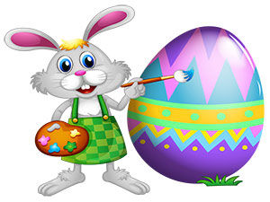 Kids Easter Coloring Contest March 2016