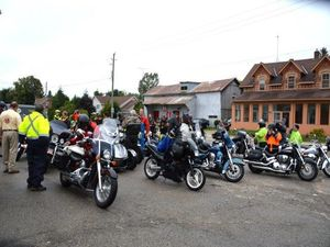 MS Freedom Ride in Marsville Ontario