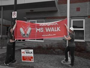 MS Orangeville Community Walk in Orangeville